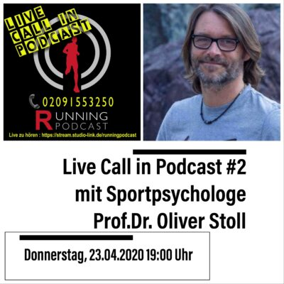 RP116 Live Call in Podcast #2 mit Sportpsychologe Prof.Dr. Oliver Stoll
